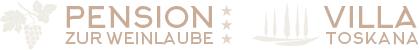 Pension zur Weinlaube | Villa Toskana | Bornheim | Südliche Weinstraße | Pfalz Logo